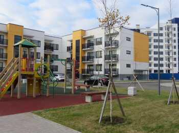 Детская игровая площадка в ЖК Финские кварталы